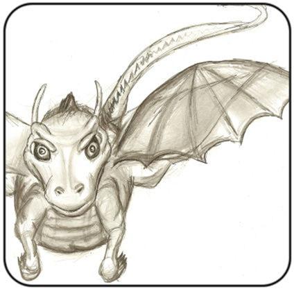 dragonsketch