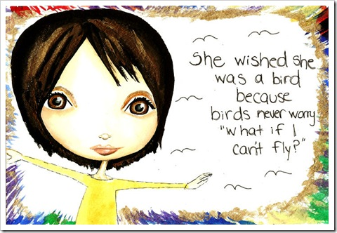 I wish I was a bird...